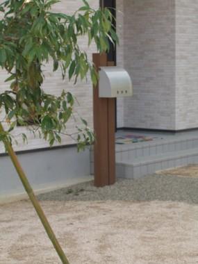 モッコクの木が出迎えてくれるお庭 6