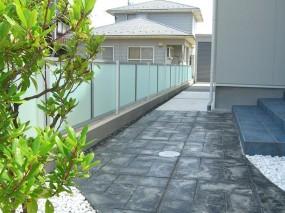 お子様と遊べる駐車スペース 鳥取市S様邸3