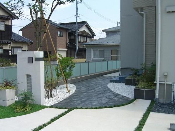 お子様と遊べる駐車スペース 鳥取市S様邸4