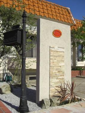 ストーンを基本としたプライベートガーデン 琴浦町 O様邸2