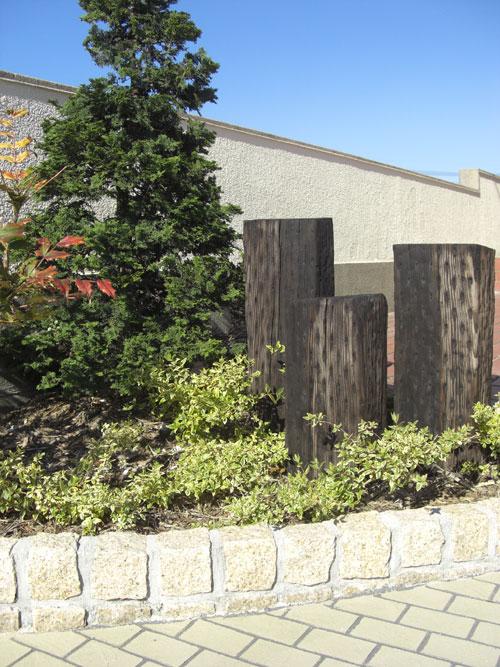 ストーンを基本としたプライベートガーデン 琴浦町 O様邸4