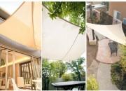 庭でのくつろぎのひとときに、屋根となって日差しから守ってくれるシェードガーデン