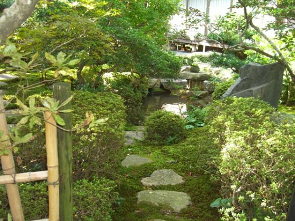 苔の美しさが際立つ趣ある和庭4