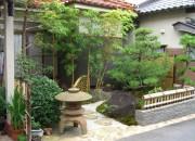 金閣寺垣がよく似合う庭