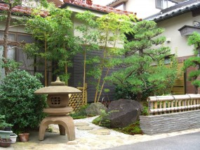 金閣寺垣がよく似合う庭 3