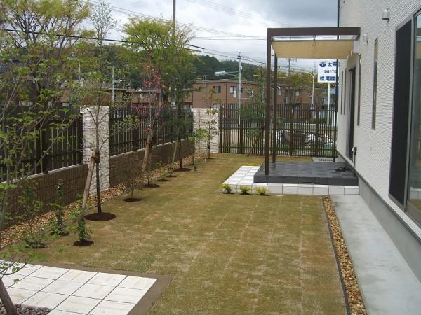 緑あふれるこだわりのプライベート空間 倉吉市 H様邸1