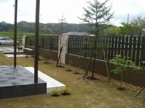 緑あふれるこだわりのプライベート空間 倉吉市 H様邸3