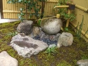 竹垣で和の雰囲気を演出 北栄町 F様邸2