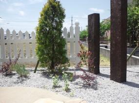 植物に囲まれた素朴で開放的なお庭 倉吉市 M様邸2