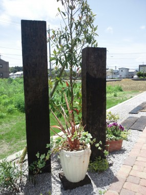 植物に囲まれた素朴で開放的なお庭 倉吉市 M様邸9