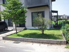 西日と視線をカットして過しやすい空間に 倉吉市 K様邸.'2