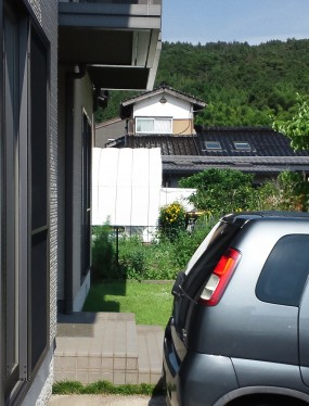 西日と視線をカットして過しやすい空間に 倉吉市 K様邸5