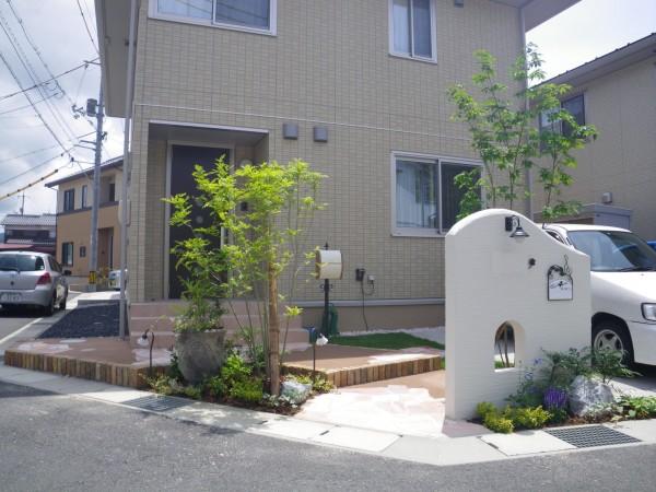 通うのが楽しくなるお庭♪  鳥取市K様邸7
