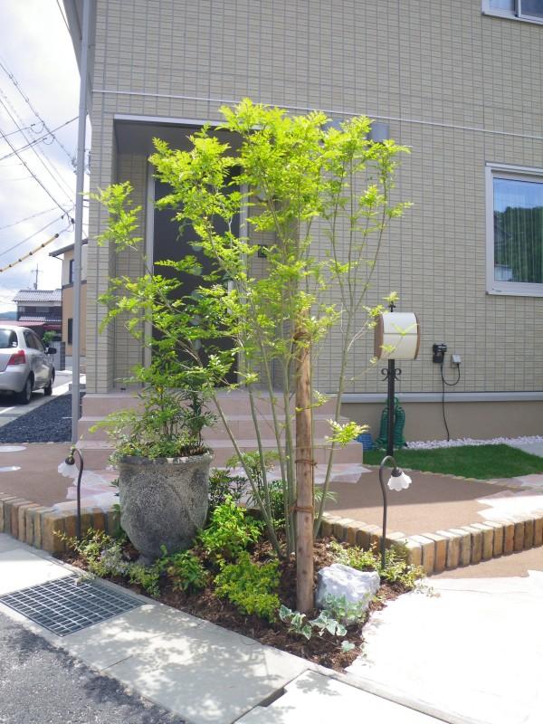 通うのが楽しくなるお庭♪  鳥取市K様邸4