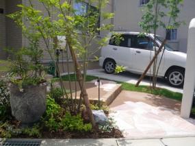 通うのが楽しくなるお庭♪  鳥取市K様邸5