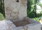 モルタル造形 立水栓