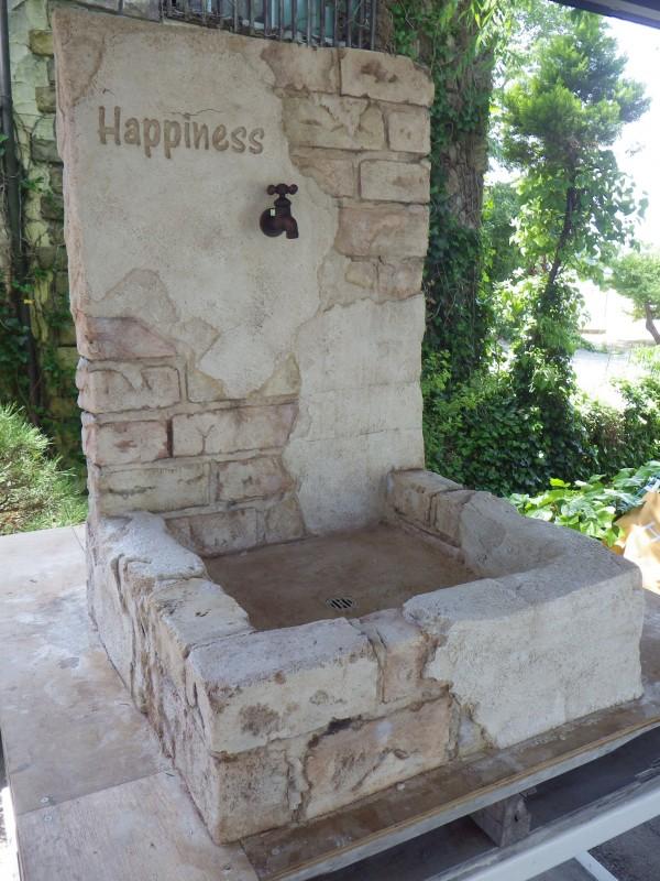 モルタル造形 立水栓1