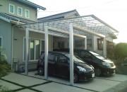 お子様と遊べる駐車スペース 鳥取市S様邸