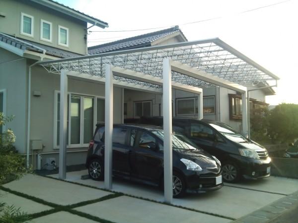 お子様と遊べる駐車スペース 鳥取市S様邸1