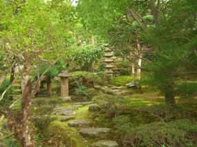 池のある本格的な個人庭園6