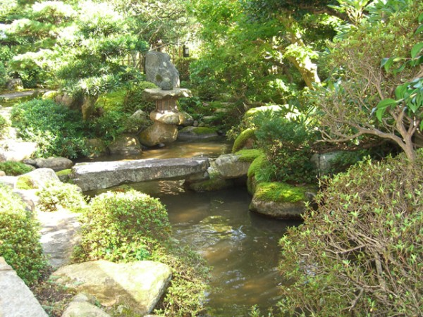 苔の美しさが際立つ趣ある和庭1